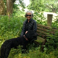 Bev and Scout, Aysgarth, Yorkshire Dales, England