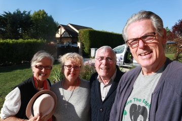 Judith and Terry, homeowners in France
