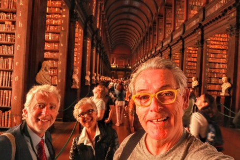 At the Library at Trinity College