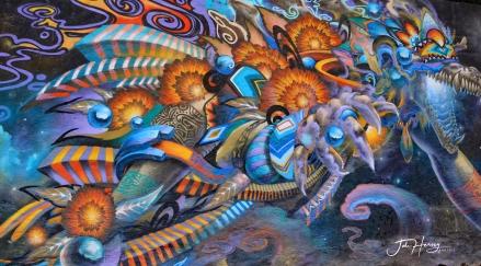 Street Art, Guadalupe, San Miguel de Allende