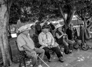 Morning Gathering in San Miguel