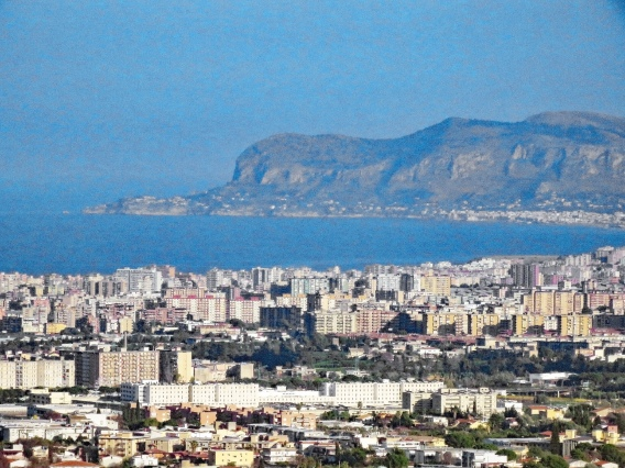 View of Palermo from Mount Real