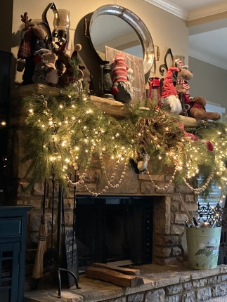 Another Fireplace for Santa